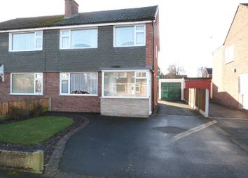 Thumbnail 3 bed semi-detached house for sale in Longdown Road, Congleton, Cheshire