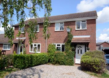 Thumbnail 3 bed end terrace house for sale in Rowan Green, Elmswell, Bury St. Edmunds