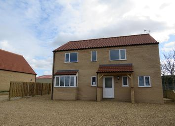 Thumbnail 4 bed detached house to rent in The Drove, Barroway Drove, Downham Market