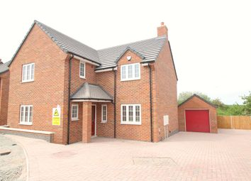 Thumbnail 4 bed detached house for sale in Tommy Brown Close, Earl Shilton, Leicester