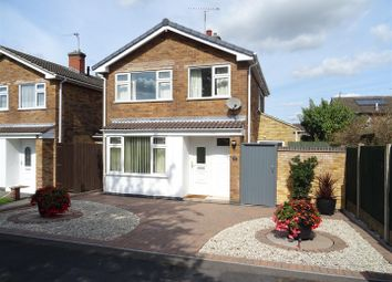 Thumbnail 3 bed detached house for sale in Kenmore Crescent, Coalville, Leicestershire