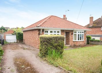 Thumbnail 2 bed detached bungalow for sale in Hillside Road East, Bungay
