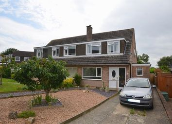 Thumbnail 3 bed semi-detached house for sale in Milldale Crescent, Honiton