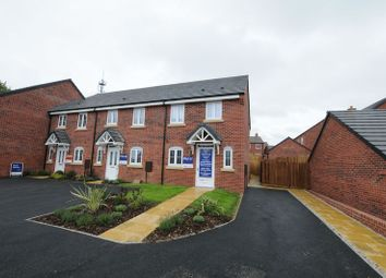 Thumbnail 3 bedroom end terrace house for sale in Wyaston Road, Ashbourne