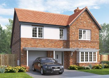 "Thumbnail 4 bed detached house for sale in ""The Overbury"" at Rectory Lane, Guisborough"