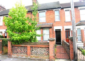 Thumbnail 3 bed terraced house to rent in Wellesley Road, Ipswich