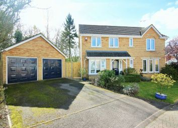 Thumbnail 4 bed detached house for sale in Beaumaris Gardens, Hythe, Southampton
