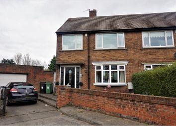 Thumbnail 3 bed semi-detached house for sale in Black Close, Ashington