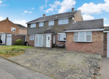 Thumbnail 4 bed semi-detached house for sale in Hilton Avenue, Dunstable