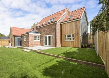 Thumbnail 4 bed detached house for sale in Carvers Lane, Attleborough, Norfolk