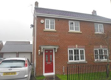 Thumbnail 3 bed semi-detached house to rent in Y Llanerch, Pontlliw