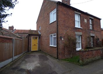 Thumbnail 2 bedroom semi-detached house for sale in 24 Hungate Lane, Beccles, Suffolk