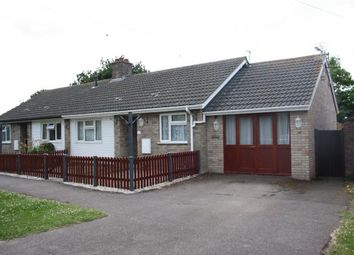 Thumbnail 1 bedroom bungalow for sale in Bunkers Drive, Cotton End, Bedford, Bedfordshire
