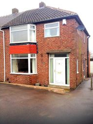 Thumbnail 3 bed semi-detached house to rent in Leedham Road, Rotherham
