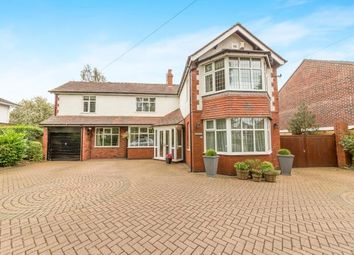 Thumbnail 5 bedroom detached house for sale in Werneth Road, Woodley, Stockport, Cheshire