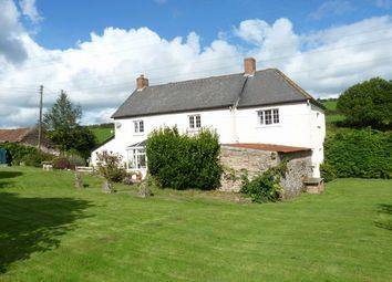 Thumbnail 4 bed farmhouse for sale in Morebath, Tiverton