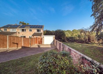 Thumbnail 4 bed semi-detached house for sale in Leewood Crescent, New Costessey, Norwich