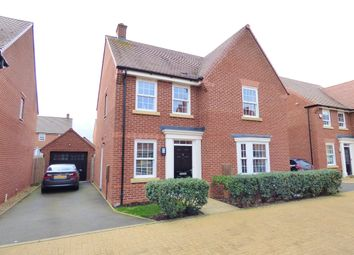 Thumbnail 4 bed detached house for sale in Little Beanhills, Marston Moretaine