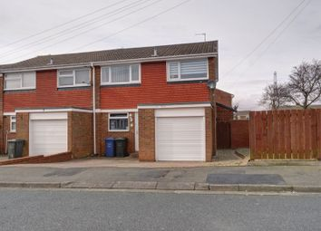 Thumbnail 3 bedroom end terrace house for sale in Dorchester Close, Chapel Park, Newcastle Upon Tyne
