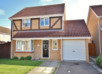 Thumbnail 3 bedroom detached house for sale in Tamar Close, St. Ives, Huntingdon