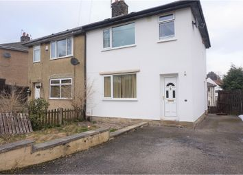 Thumbnail 3 bed semi-detached house for sale in Broomhill Mount, Keighley