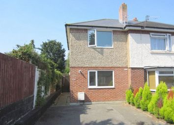 Thumbnail 2 bed semi-detached house to rent in Luckham Road, Bournemouth