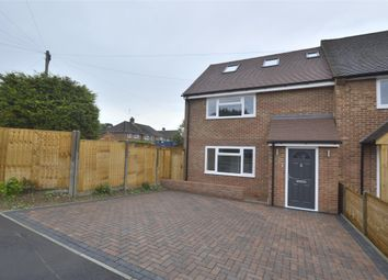 Thumbnail 3 bedroom end terrace house for sale in Northdown Road, Kemsing, Sevenoaks, Kent