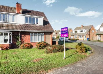 Thumbnail 3 bed semi-detached house for sale in Pass Avenue, Whittington, Lichfield