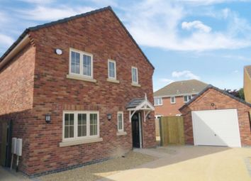 Thumbnail 3 bed detached house for sale in Chapel Lane, Turves, Whittlesey, Peterborough