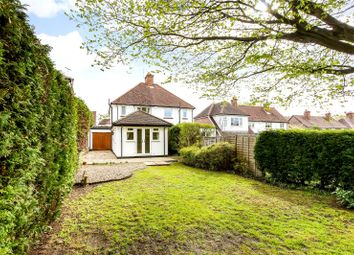 Thumbnail 2 bed semi-detached house for sale in Poplar Avenue, Windlesham, Surrey
