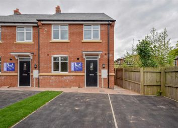 Thumbnail 3 bed town house for sale in Vicarage Close, Syston, Leicester