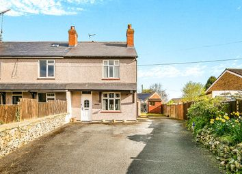 Thumbnail 3 bed semi-detached house for sale in Old Whittington Road, Gobowen, Oswestry