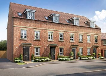 "Thumbnail 3 bed terraced house for sale in ""Greenwood"" at Fetlock Drive, Newbury"