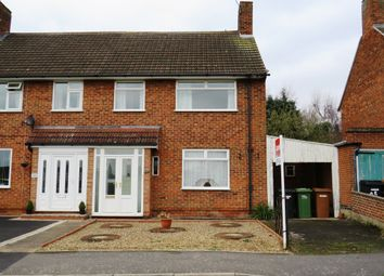Thumbnail 3 bedroom semi-detached house for sale in Weaver Green, Melton Mowbray