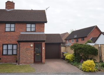 Thumbnail 3 bed semi-detached house for sale in Farriers Close, Ipswich