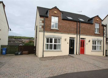 Thumbnail 3 bed semi-detached house for sale in Riverview Heights, Ballynahinch, Down