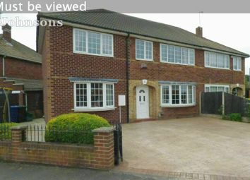 Thumbnail 5 bed semi-detached house for sale in St Patricks Way, Scawsby, Doncaster.
