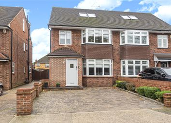 Thumbnail 4 bed semi-detached house for sale in Mellow Lane East, Hayes, Middlesex