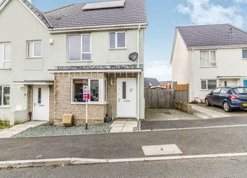 Thumbnail 3 bed semi-detached house for sale in Yellowmead Road, Plymouth