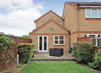 Thumbnail 3 bed terraced house for sale in St. Marys Close, Elstow, Bedford