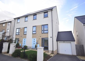 Thumbnail 4 bed semi-detached house for sale in Willowherb Road, Lyde Green, Bristol