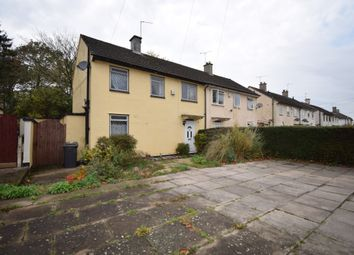 Thumbnail 3 bed semi-detached house for sale in Cordery Road, Evington Village, Leicester