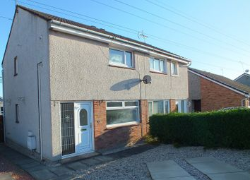 Thumbnail 2 bed semi-detached house for sale in Cartha Road, Calside, Dumfries