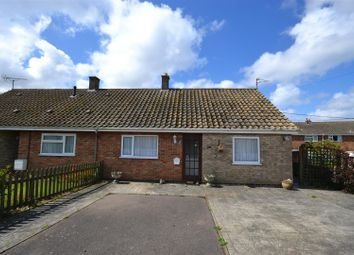 Thumbnail 2 bedroom semi-detached bungalow for sale in Fengate, Heacham, King's Lynn