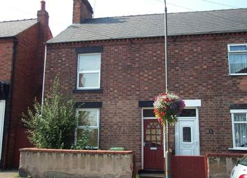 Thumbnail 2 bed terraced house to rent in Wharf Road, Pinxton, Nottingham