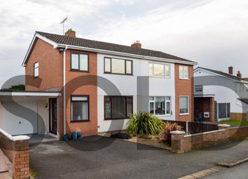Thumbnail 3 bed semi-detached house for sale in Elm Avenue, Connah's Quay, Deeside