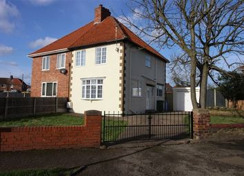 Thumbnail 3 bedroom semi-detached house for sale in Mellish Road, Langold, Worksop, Nottinghamshire