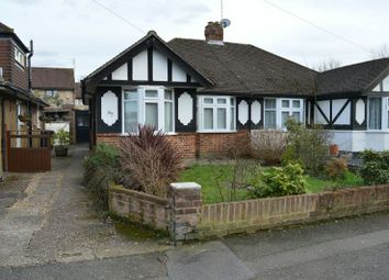 Thumbnail 2 bed semi-detached bungalow to rent in Cheshire Gardens, Chessington