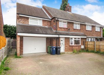 Thumbnail 5 bed semi-detached house for sale in Beauchamp Close, Eaton Socon, St. Neots