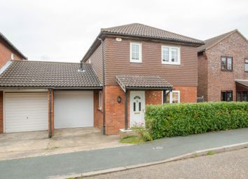 Thumbnail 3 bed link-detached house for sale in Aspen Close, Haverhill